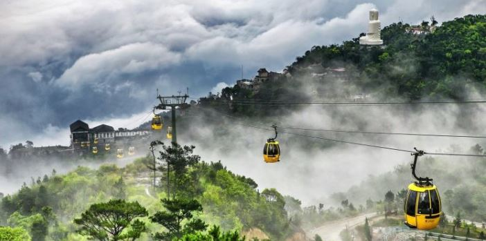 Cable Car to Ba Na Hills